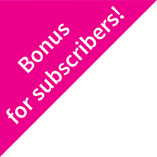 Bonus for subscribers!