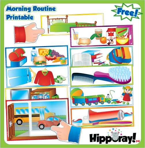 Free Hipporay Morning Routine
